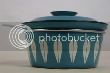 Blue Cathrineholm saucepan