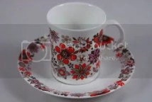 Vintage Elizabethan Portobello cup and saucer