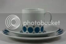 Vintage Thomas porcelain trio