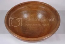 Antique dairy bowl