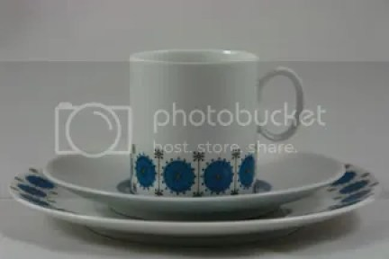 Thomas Pottery porcelain coffee cup