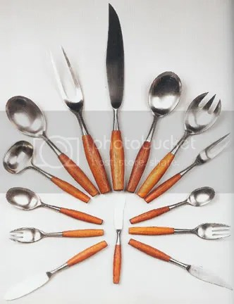 Quistgaard 'Fjord' cutlery set