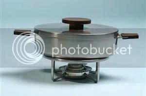 vintage Lundtofte chaffing dish