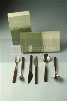 vintage Lundtofte 'Opus' cutlery set