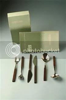 vintage Lundtofte 'Opus' cutlery set