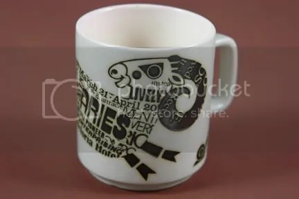 Vintage Hornsea 'Aries' mug