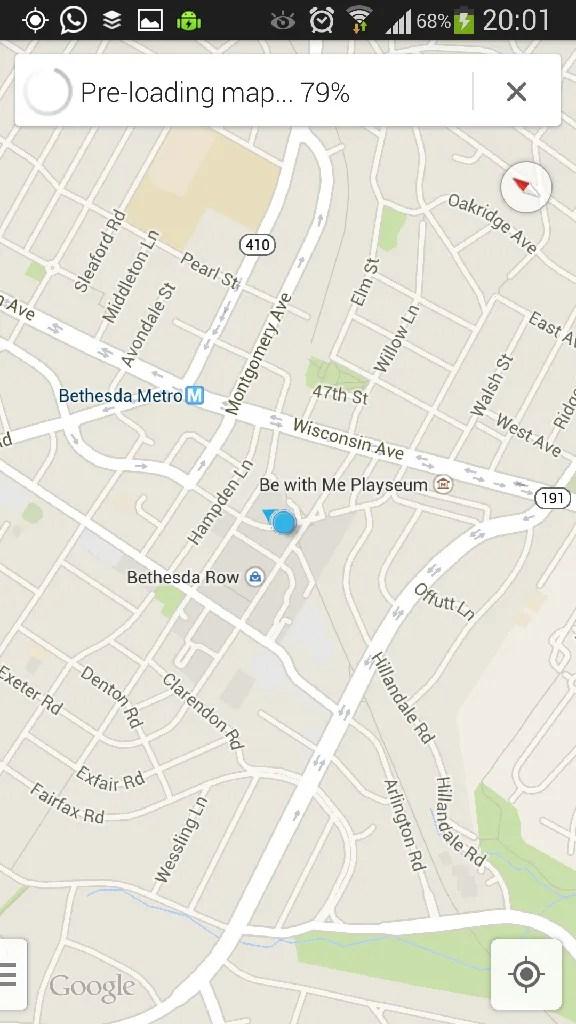 Google Maps Preloading