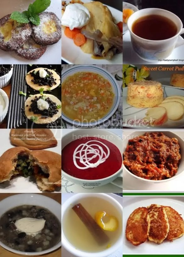 Vegetarian Russian Recipes