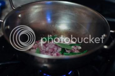 Kara Kuzhambu - Saute Onions