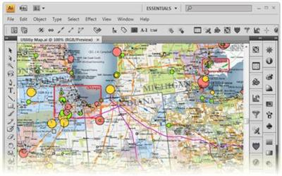 Avenza MAPublisher 9.8.for Adobe Illustrator MacOSX
