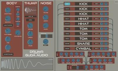 Guda Audio DrumR (Win&Mac)