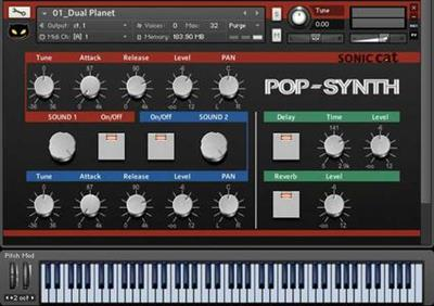 Sonic Cat Pop Synth (KONTAKT) coobra.net