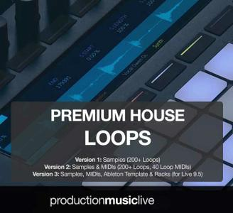 Production Music Live Premium House Loops v1.WAV MiDi