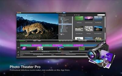 Photo Theater Pro 4.4.0 Multilingual MacOS X