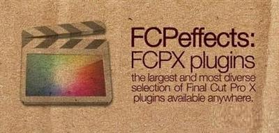 FCPEffects Plugins Bundle 2016.MacOSX