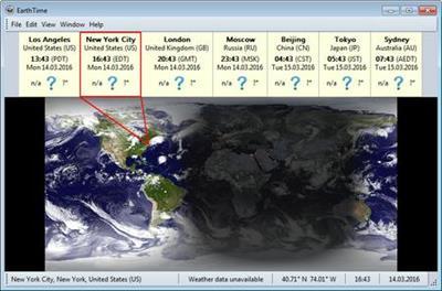 DeskSoft EarthTime v5.5.20