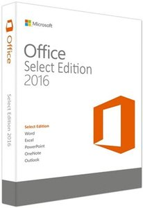 Microsoft Office Select Edition 2016 VL v16.0.4432.1000