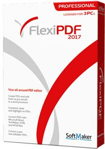 SoftMaker FlexiPDF 2017 Professional 1.00 Multilingual 181011