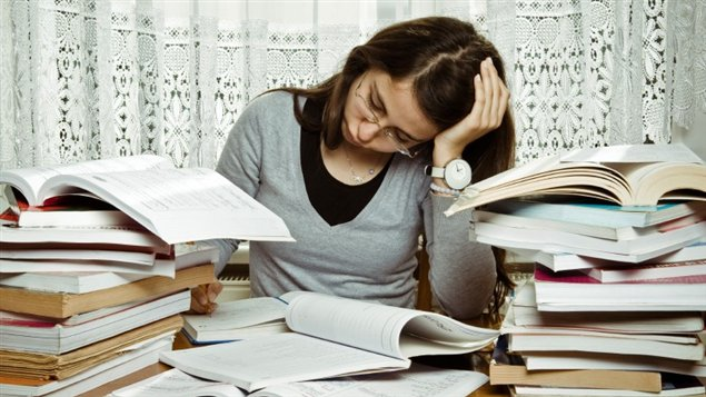 Le fameux stress des exams...