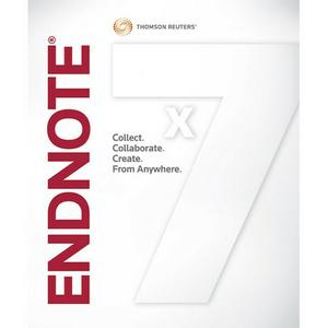 Thomson Reuters EndNote X7.7 Build,11722 MacOSX