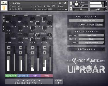 Chocolate Audio ChocoMatic Series-Uproar KONTAKT