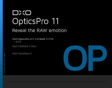 DxO Optics Pro 11.3.0 Build 11759 Elite.(x64) Multilingual Portable