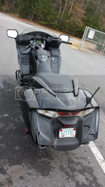 Goldwing F6B Rear