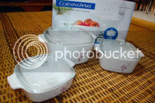 set pinggang mangkuk CorningWare