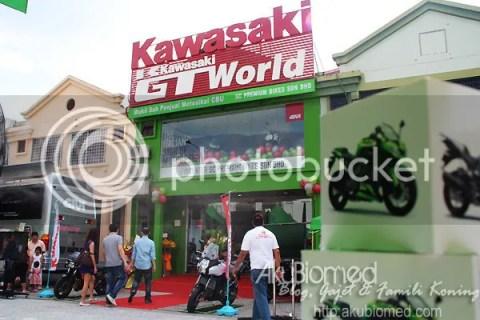 Pelancaran Kawasaki GT World dan Pusat GIVI