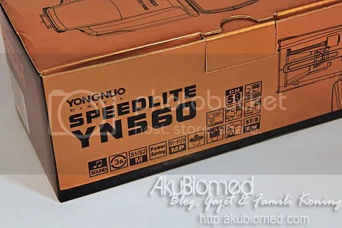 yongnuo speedlite yn560 box