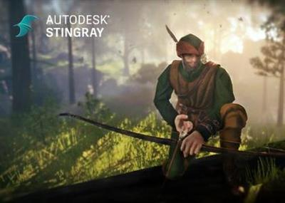 Autodesk Stingray 2017.version 1.5 coobra.net