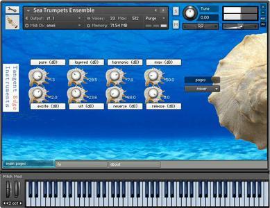 Tangent Edge Instruments Trumpets-KONTAKT