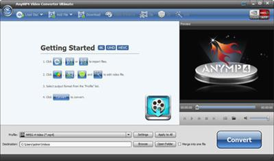 AnyMP4 Video Converter Ultimate 7.0.36.Multilingual
