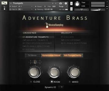 Musical Sampling Adventure Brass-KONTAKT