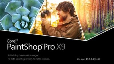Corel PaintShop Pro X9.19.1.0.29 (x86/x64)