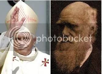 Pope and Darwin