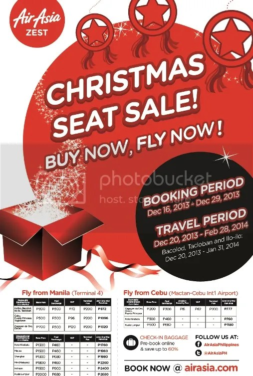 AirAsia Christmas low fare