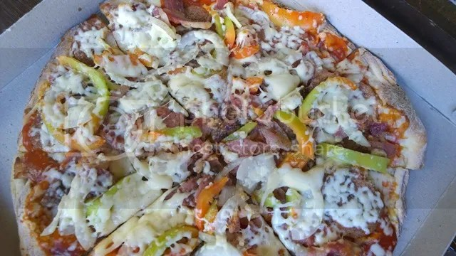 All Meat Pizza Thin Crust