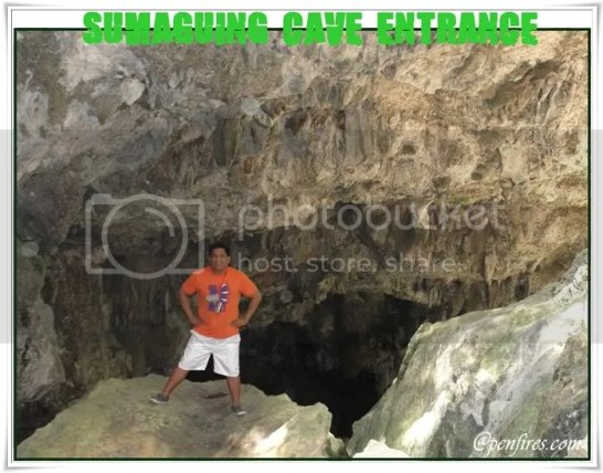 Sagada Tour - Sumaguing Cave Entrance