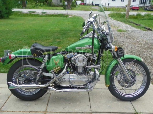 From the past 1965 XLH   Harley Davidson Forums
