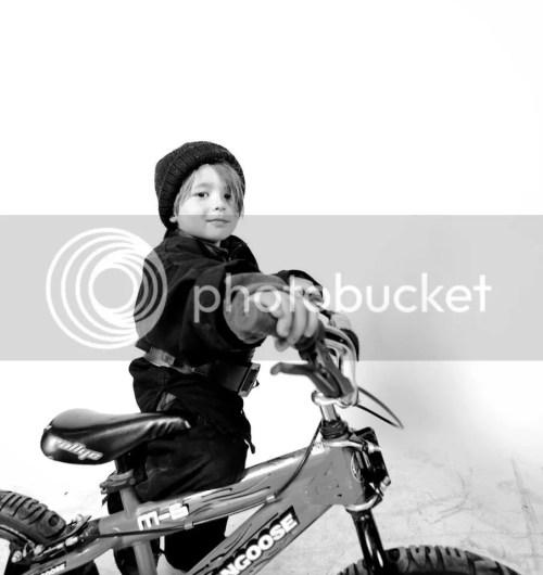 Burlington Halloween Bike Portraits