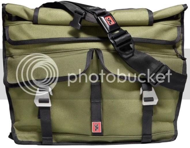 Chrome Lieutenant Rolltop Messenger Bag
