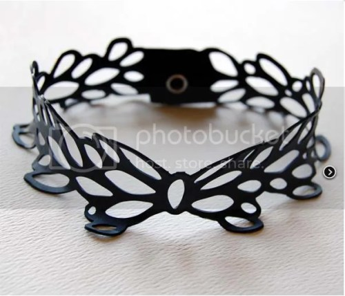 Urban Lace Bicycle Innertube Bracelette