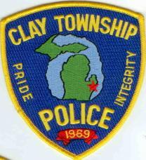 clay township mi police
