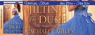 Jilting the Duke: The Muses' Salon #1 by Rachael Miles with Excerpt and Giveaway