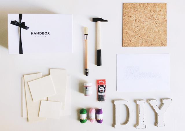 materiales kit handbox IamaMess