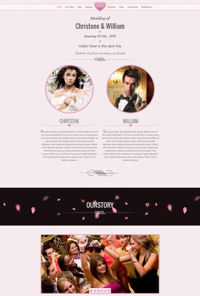 15 + Best Wedding Website Design Templates