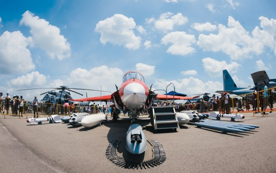 Singapore Airshow 2014 static displays