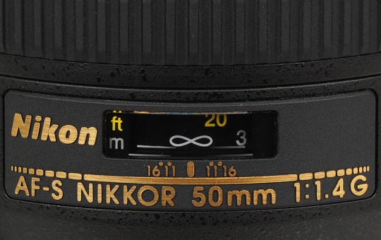 My Nikkor AF-S 50mm f/1.4G