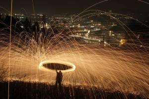 lightpainting - IAmNotABlog